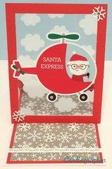 Santa Express - Easel card