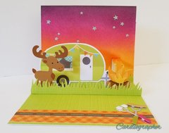 Camping pop-up card (inside)