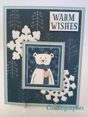 Warm wishes - polar bear