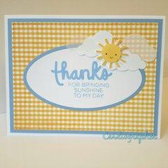 Thanks - Sunshine