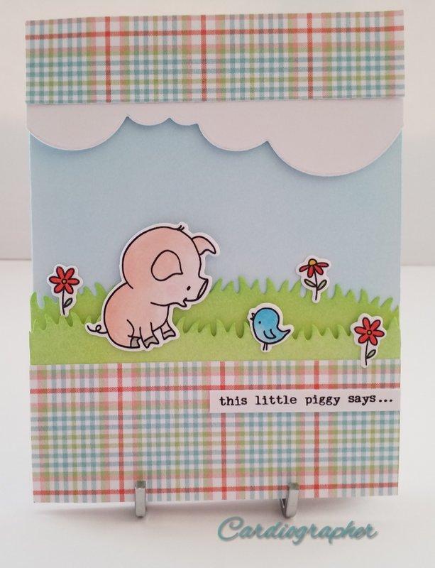 This little piggy birthday