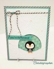 You're the bestest - penguin wobbler