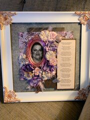 Keepsake Picture Frame Of A Loved One
