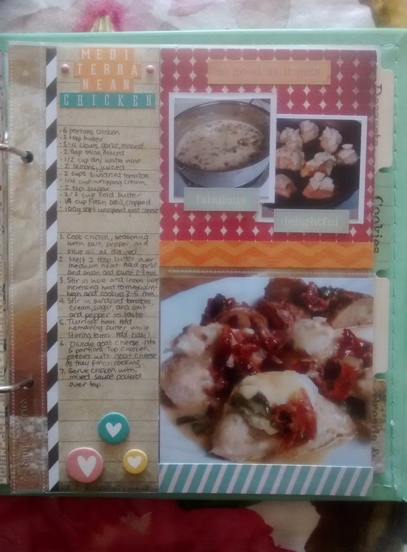 Mediterranean Chicken - NSD What's Cooking Recipe Challenge