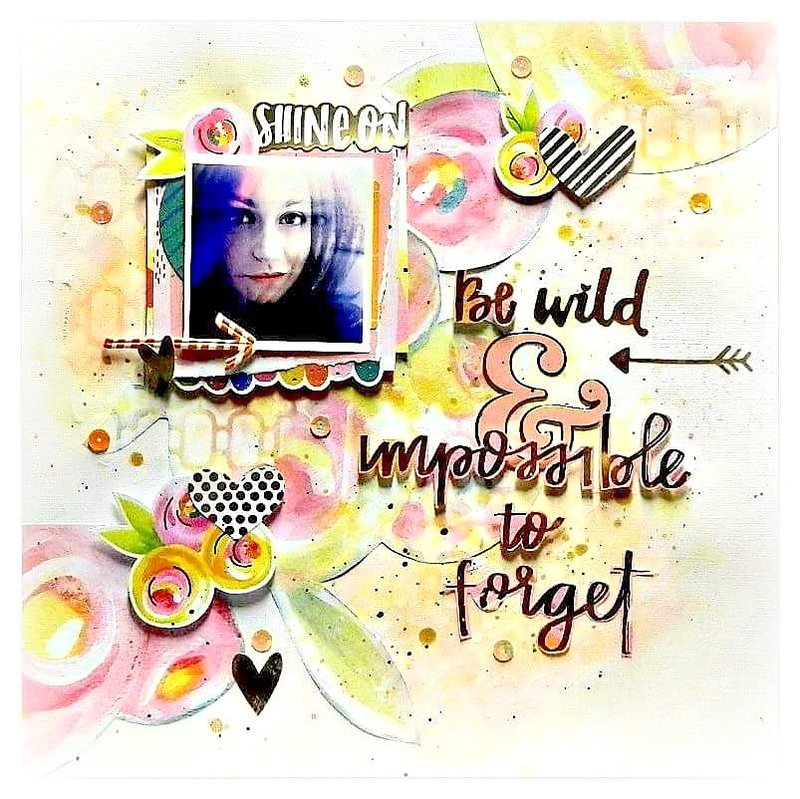 Be wild & impossible to forget