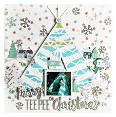 Merry Teepee Christmas