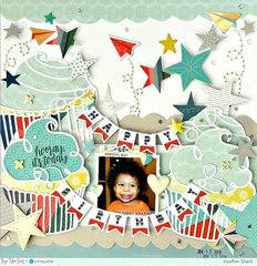 Happy birthday *Paige Evans + Silhouette DT*