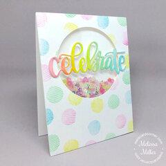 Celebrate Shaker Card