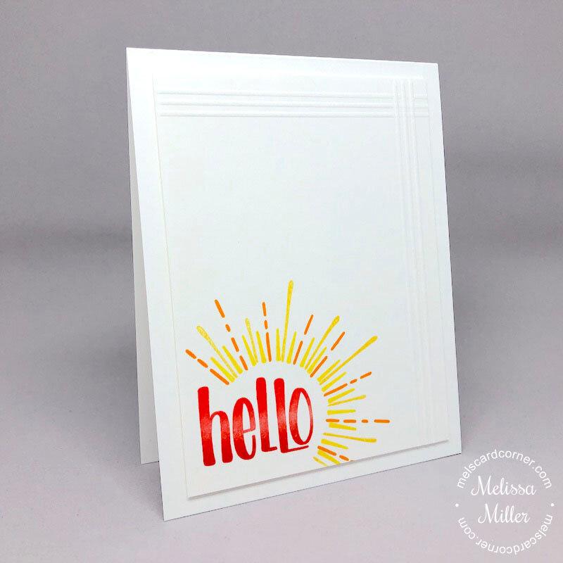 Hello Sunshine CAS Card