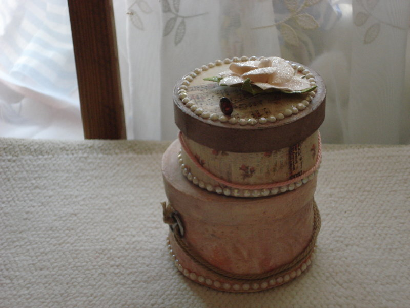 Vintage Hatboxes Gift Box