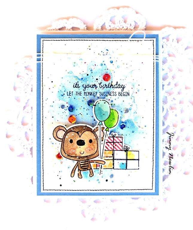 Monkey Business Birthday