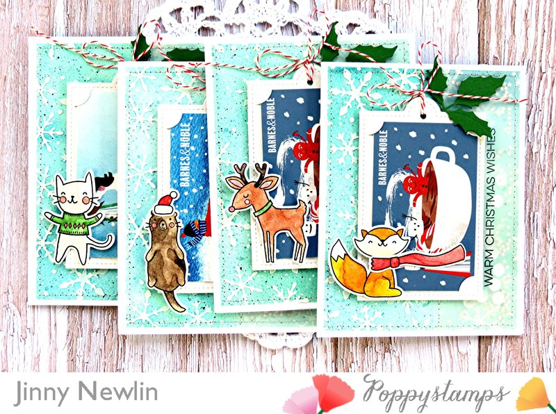 Warm Christmas Wishes Gift Cards
