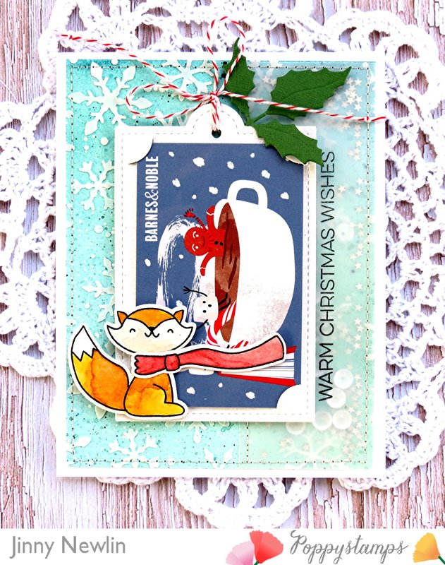 Warm Christmas Wishes Foxy Gift Card