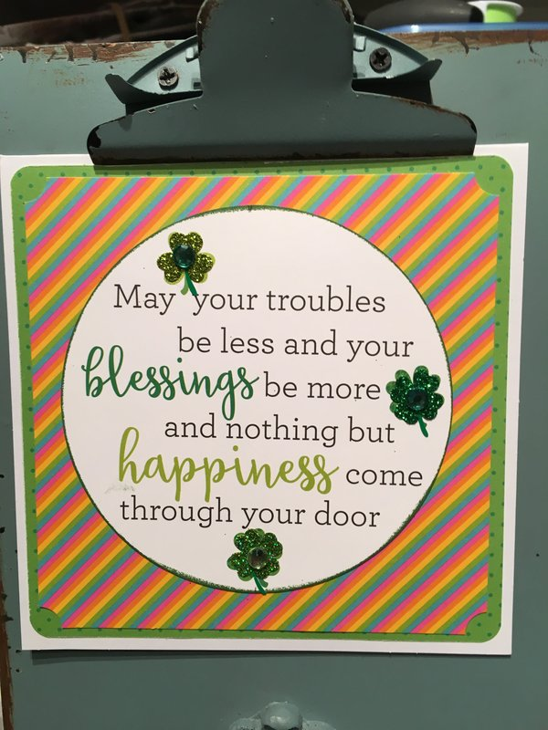 #3 St Patrick's day card