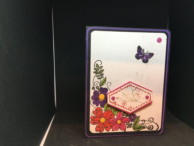 Corner flowers
