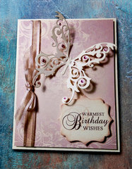Elegant Butterfly Birthday Card