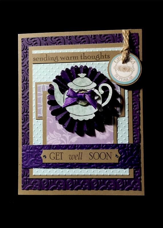Teapot Get Well Card