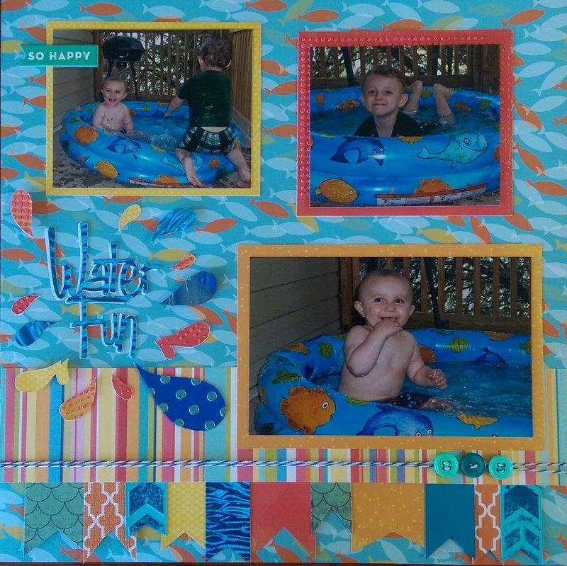 Little Boy Water Fun