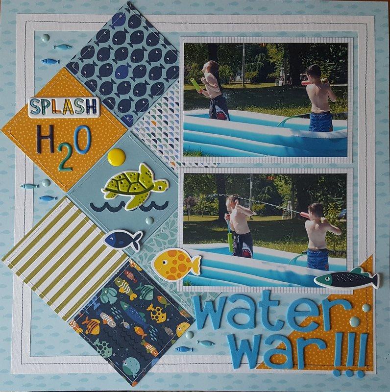 Water War- Pool Days of 2017