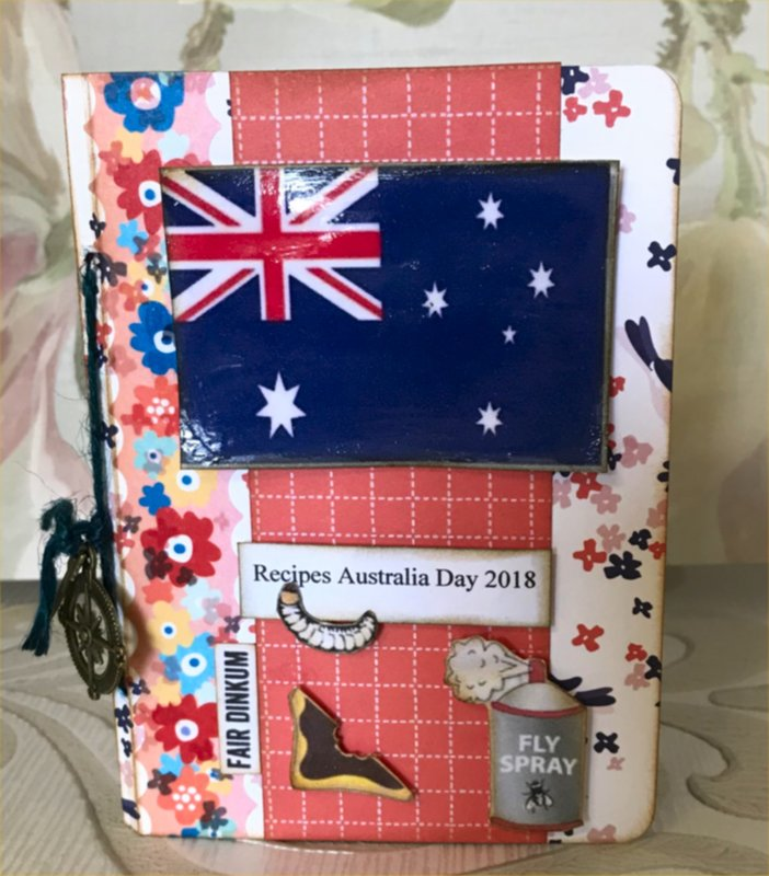 Australia Day Recipe Book Cover