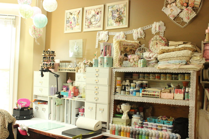 My Shabby Chic Beautiful Craft Room