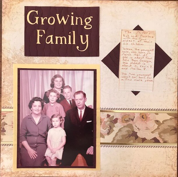 Growing Family - right