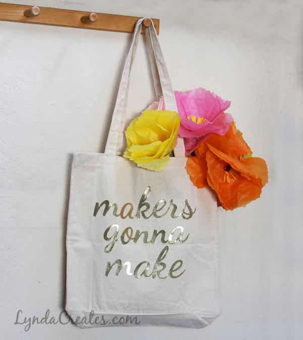 Tote Bag Lettering