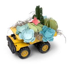 Vintage Toy Truck 3D Succulent Display