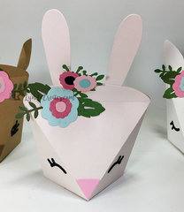 Boho Bunny Animal Box