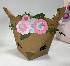 Boho Deer Box