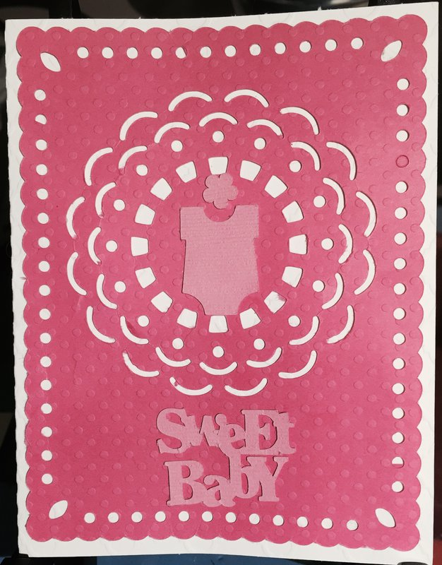New Baby Card #1: Front