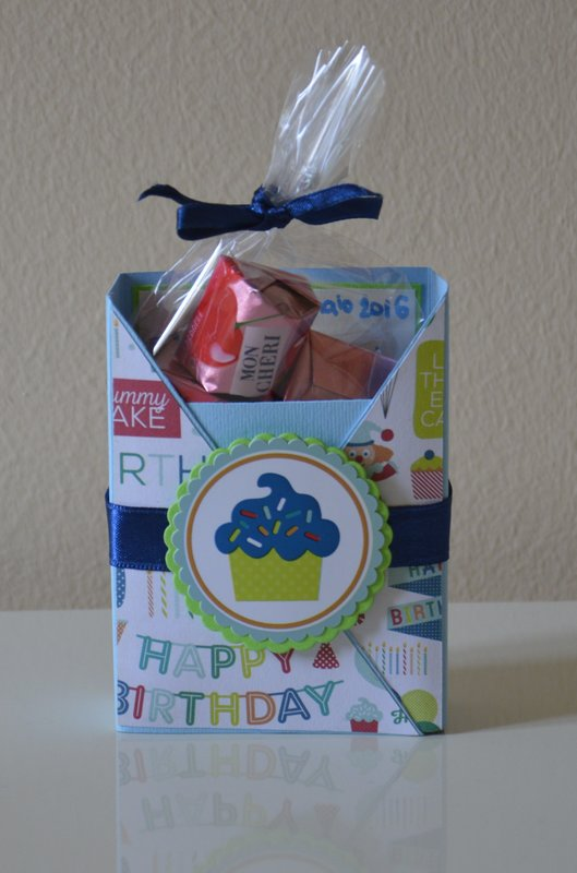 Birthday card with surprise