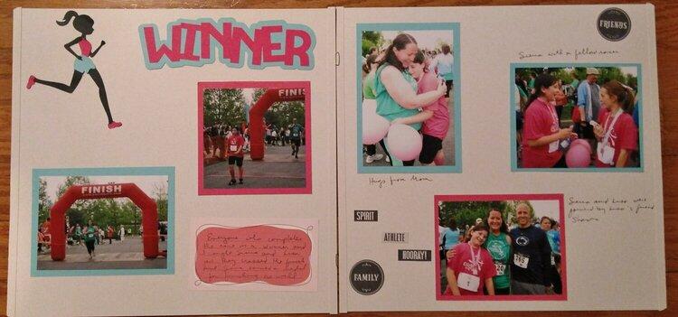 Winner page