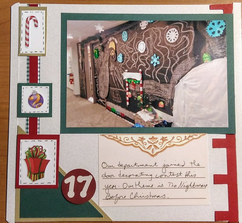 December Daily page 17