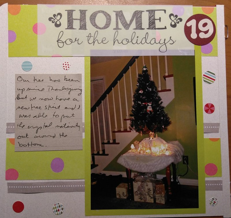 December Daily page 19