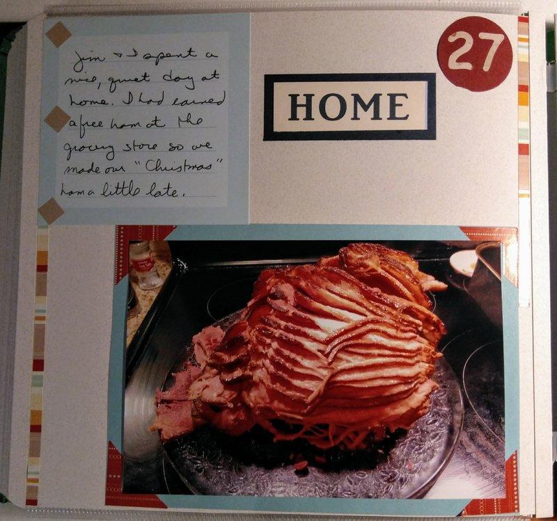 Late Christmas Ham