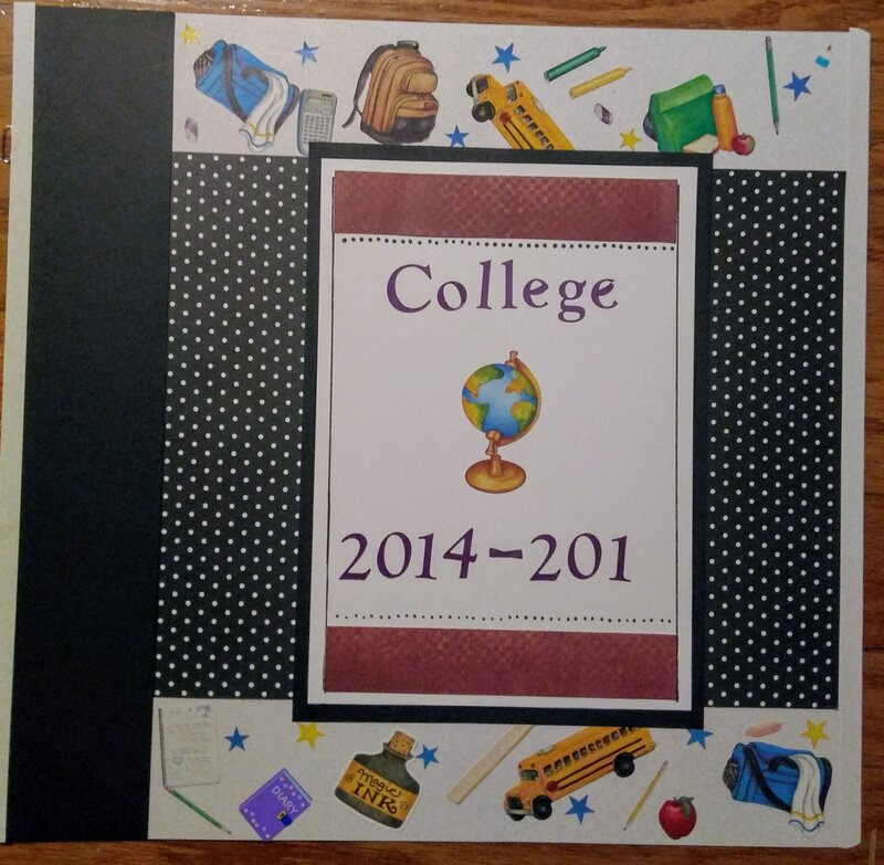 College kick-off page