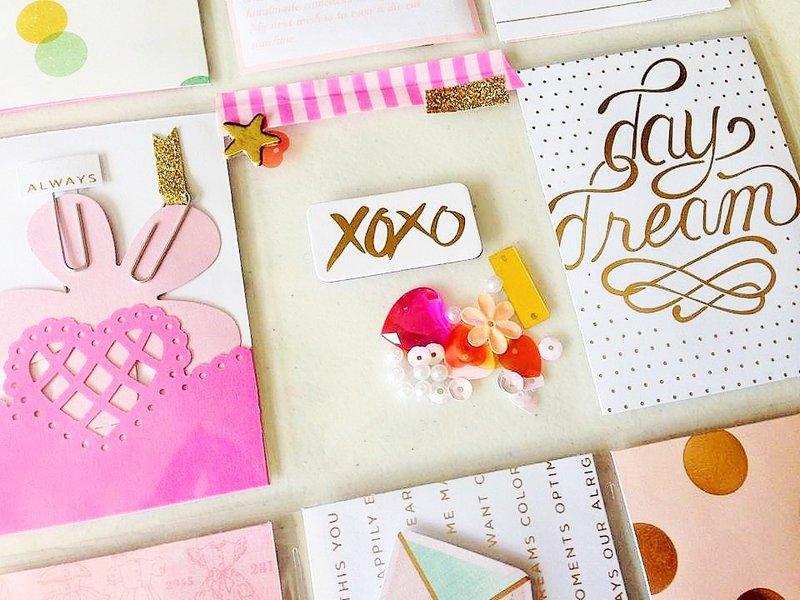 2 Gold Pocket Letters