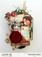 Christmas Carol Pop-Up Shadow Box Tutorial