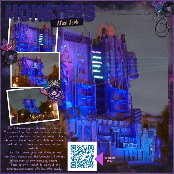 Disney Monsters After Dark