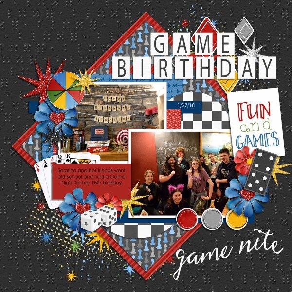 Game Night Birthday
