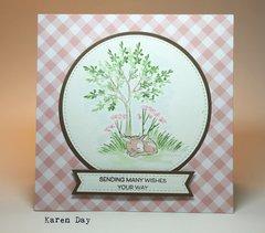 Art Impressions Watercolor Card