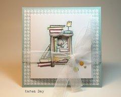 Art Impressions Mini Try-fold card