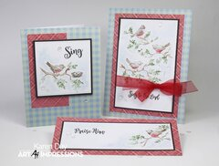Art Impressions Bible Journaling cards