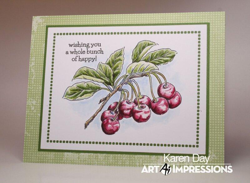 Art Impressions Exclusive Cherry Set