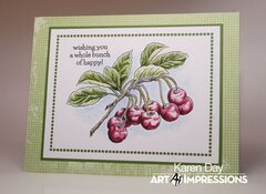 Art Impressions Exclusive Cherry Set