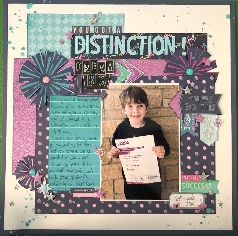 You Got a Distinction!