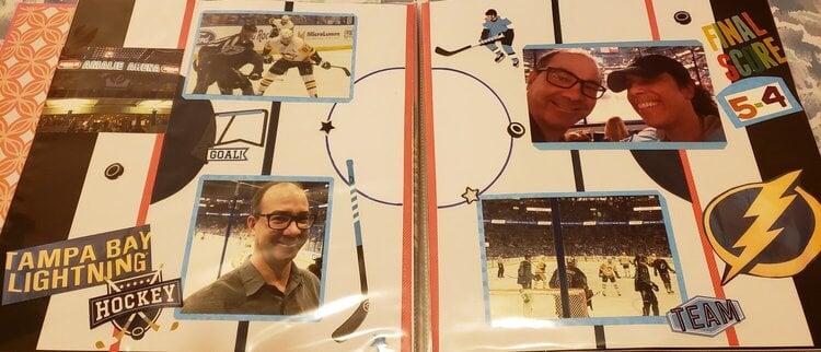 Professional Hockey Game