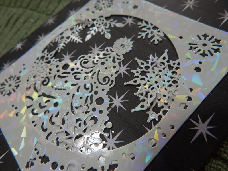 Reflective Christmas Tree Snowflakes