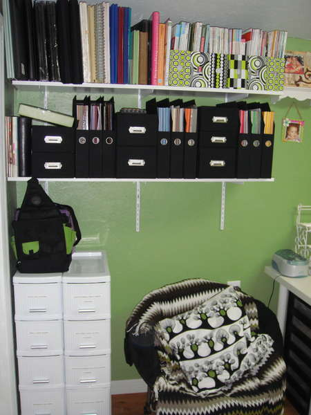 SCRAPBOOK ROOM-LEFT SIDE WALL- ALBUMS/MAGAZINE AND MORE